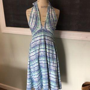 Title Nine Halter Printed Tennis Dress S